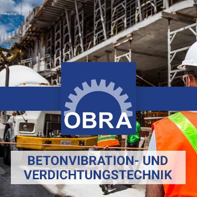 Obra Baumaschinen - home banner